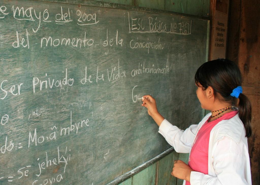 Una problemática social latente la falta de educación primaria para niños