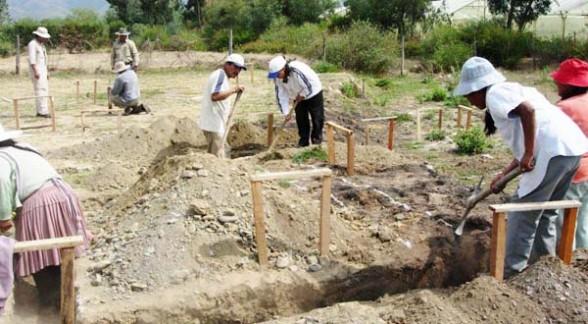 Construcción de viviendas solidarias para disminuir la pobreza